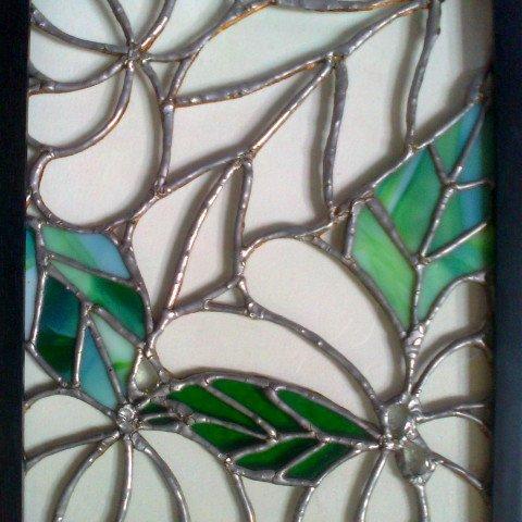 Louis Tiffany style panel