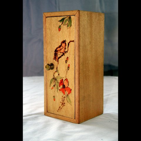 Pyrography Pencil Holder