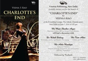 001_IDEAL Director, Asha Mandapa as a panellist at the launch of Charlotte's End in Delhi