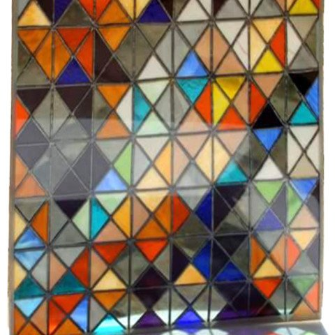 Stained Glass Panel Size 5ftx2ft