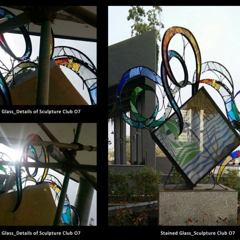 Stained Glass Sculpture and Details Club